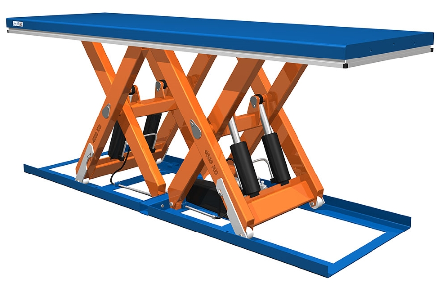 Lift Tables - Horizontal Double Scissors